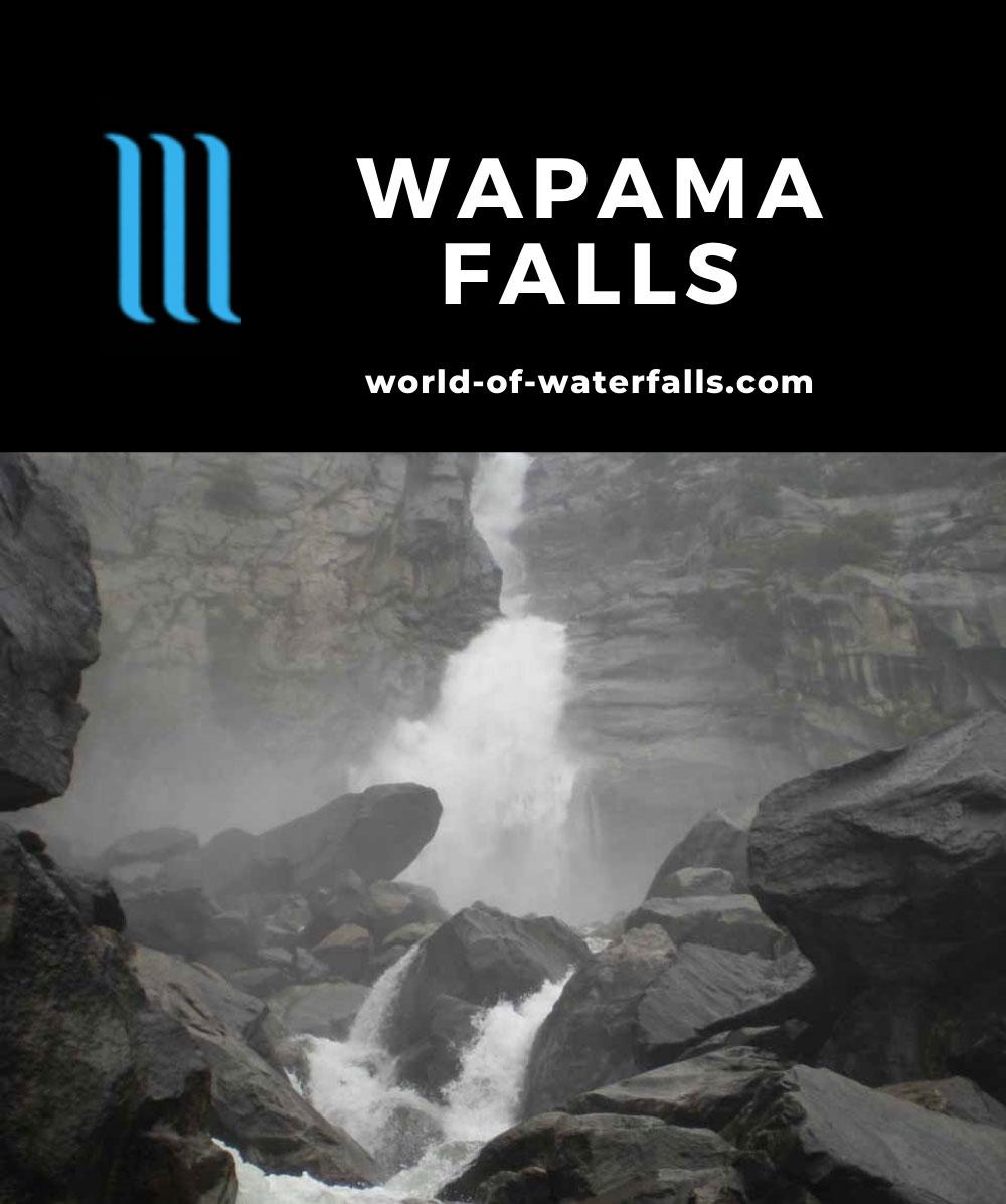 Hetch_Hetchy_050_06042011 - Looking directly up at Wapama Falls