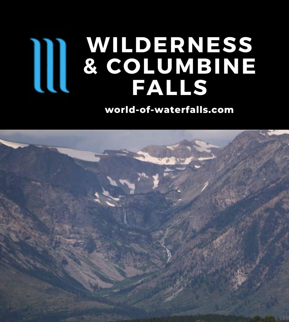 Jackson_Lake_002_08132017 - Wilderness Falls and Columbine Cascade (or Columbine Falls)