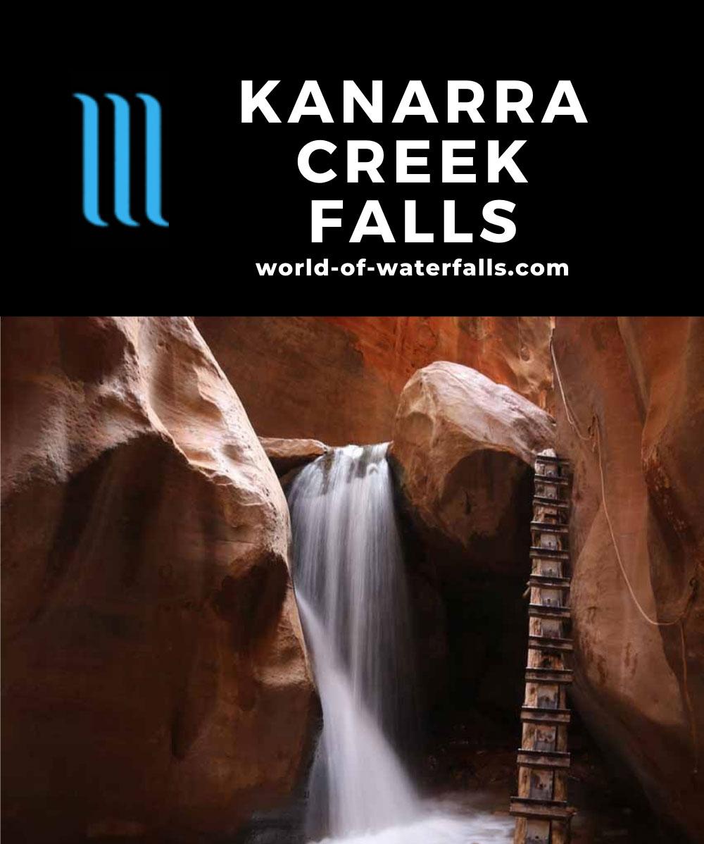 Kanarraville_Falls_170_04052018 - One of the Kanaraville Falls within Kanarra Creek Canyon
