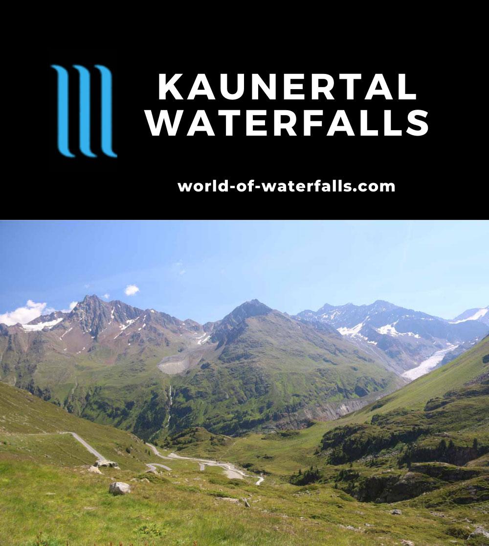 Kaunertal_124_07192018 - Context of glaciers feeding some of the Kaunertal Waterfalls as seen along the Kaunertal Glacier Road
