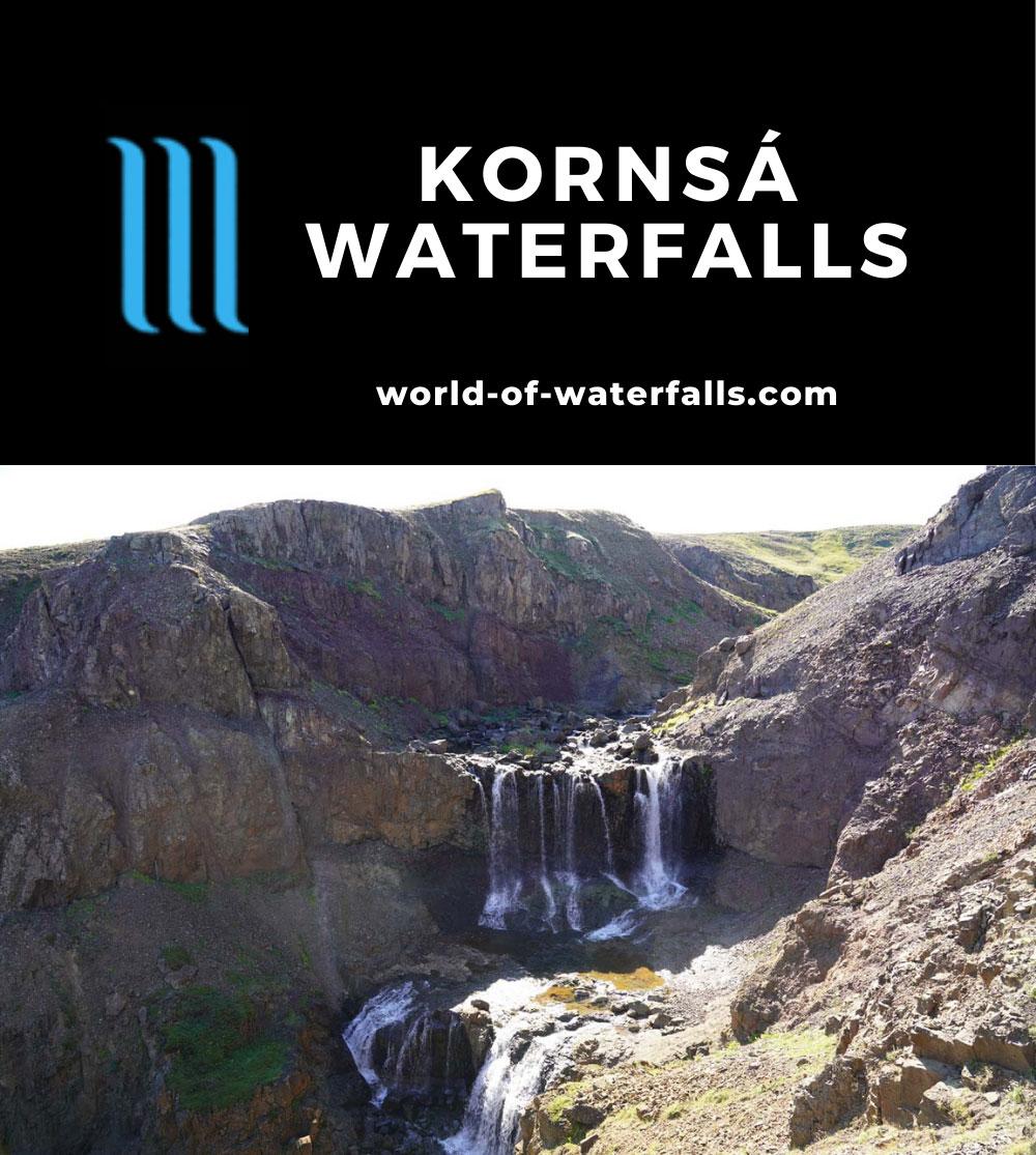 Kornsa_059_08162021 - One of the waterfalls on the Kornsá