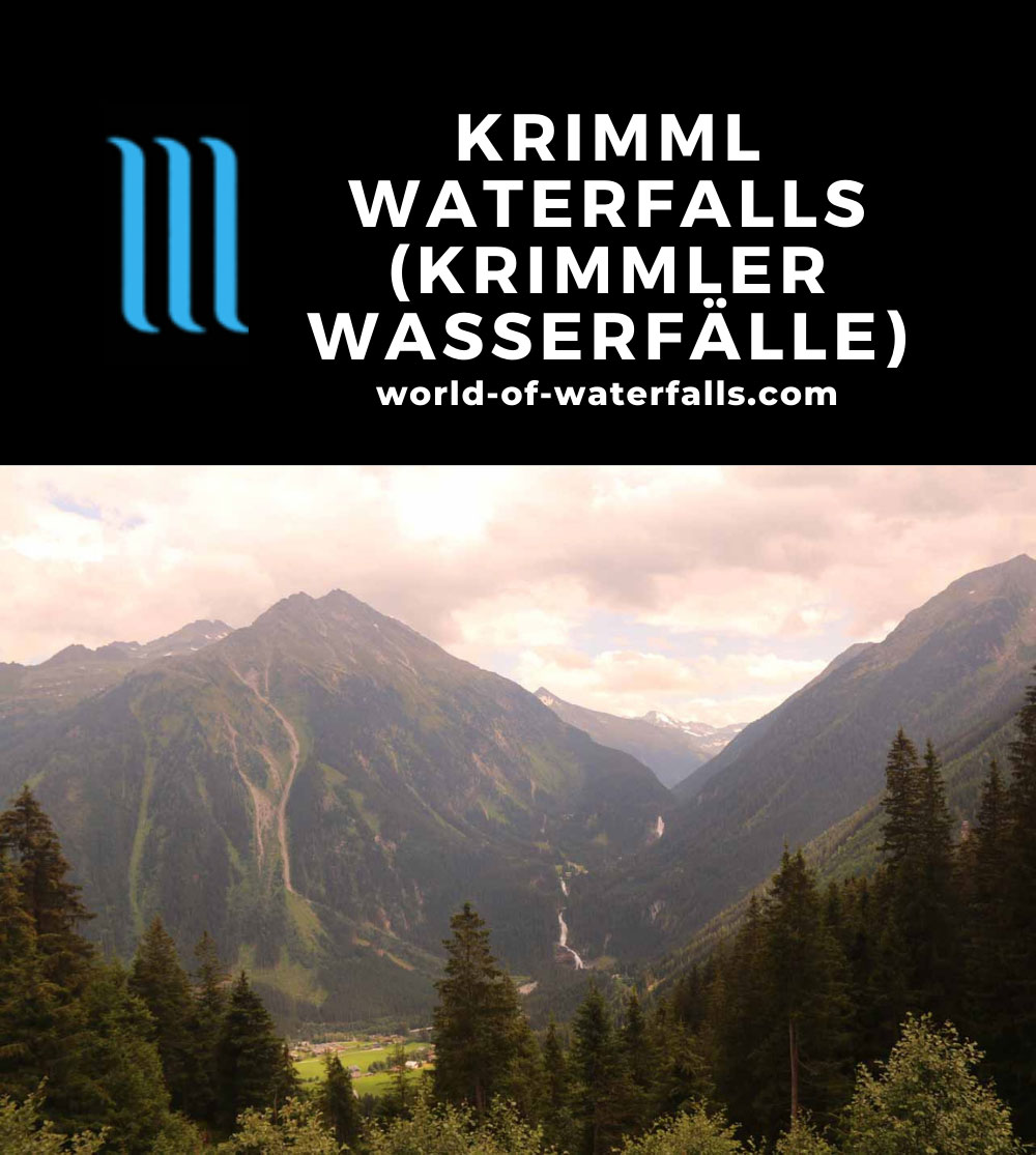 Krimml_Waterfall_453_07142018 - Full context of the Krimml Waterfalls as seen from the Wasserfälleblick