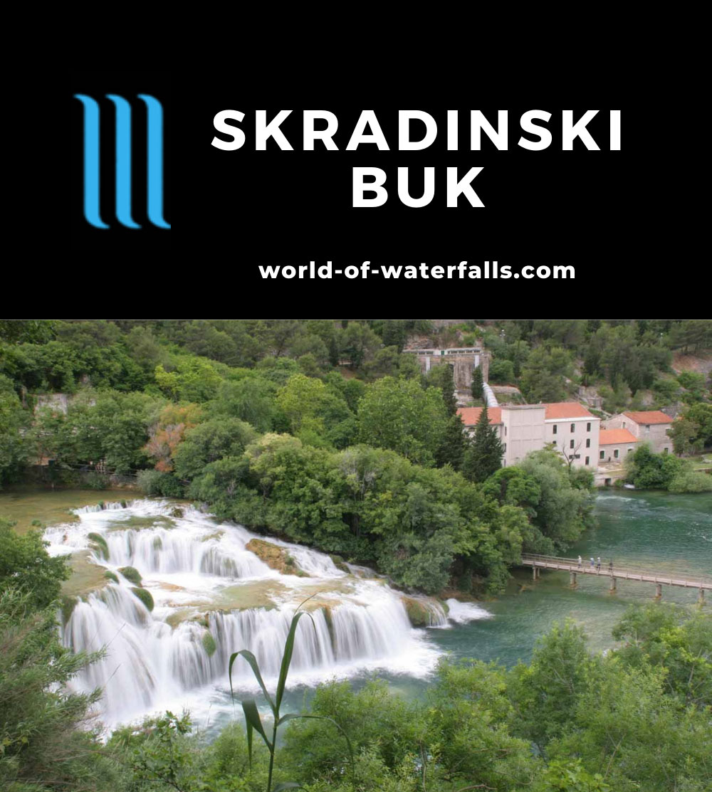 Krka_210_06022010 - The main Skradinski Buk Waterfall in Krka National Park