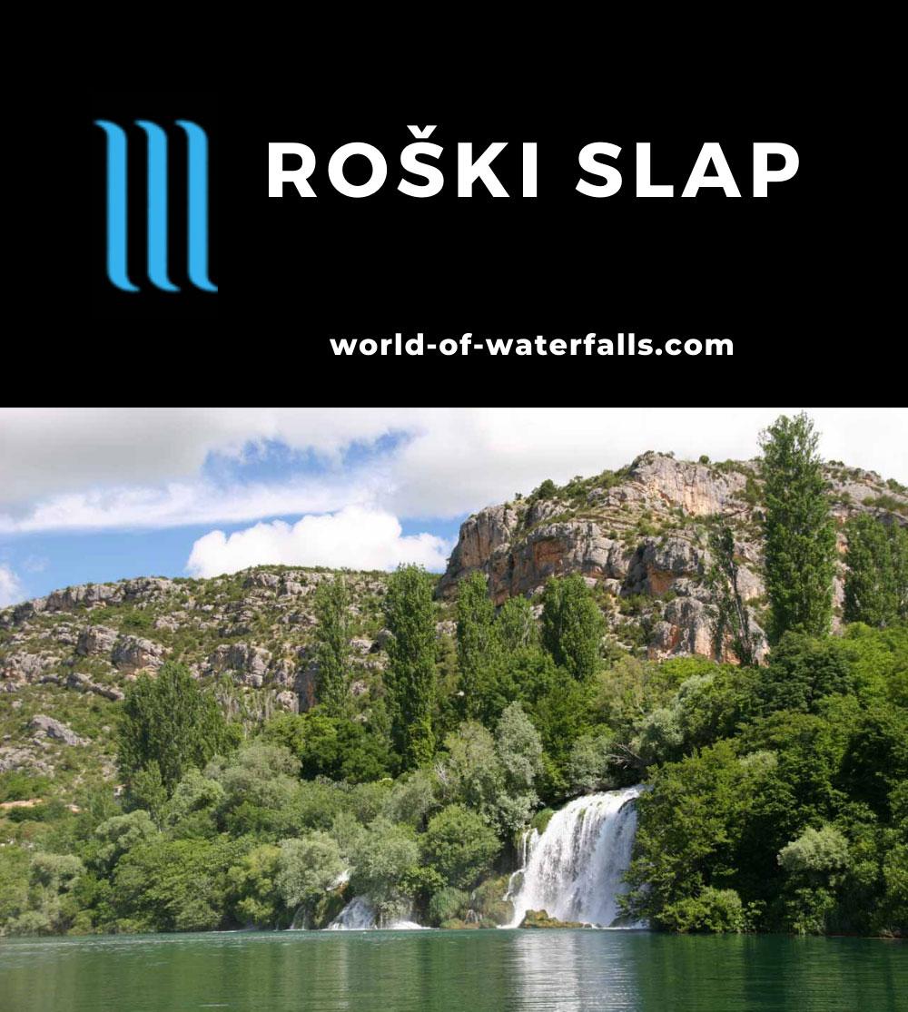 Krka_263_06032010 - The main drop of Roski Slap in Krka National Park