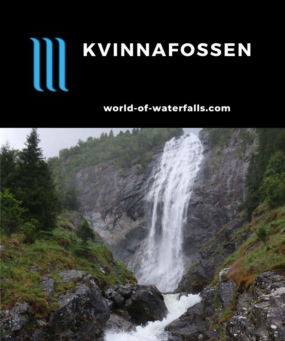 Kvinnefossen_009_07212019 - Kvinnafossen as seen from my visit in July 2019