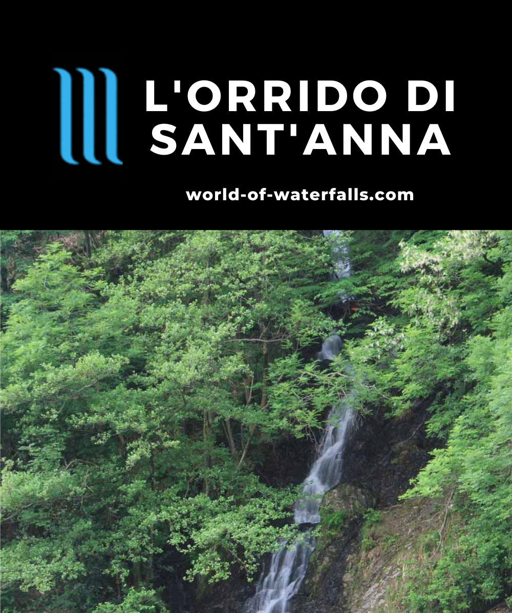 LOrrido_di_SantAnna_033_20130604 - The waterfall at L'Orrido di Sant'Anna