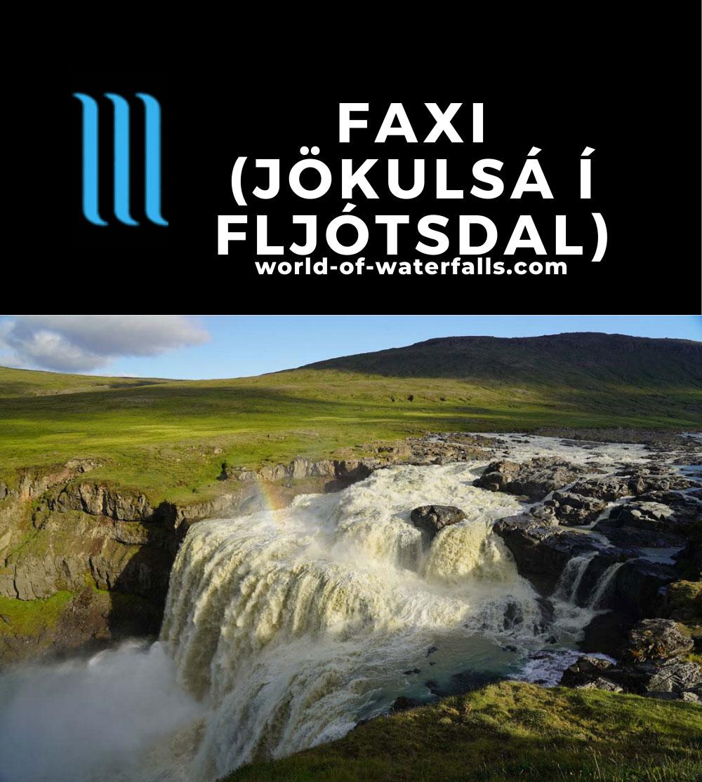Laugarfell_138_08112021 - Faxi on the Jökulsá í Fljótsdal near Laugarfell
