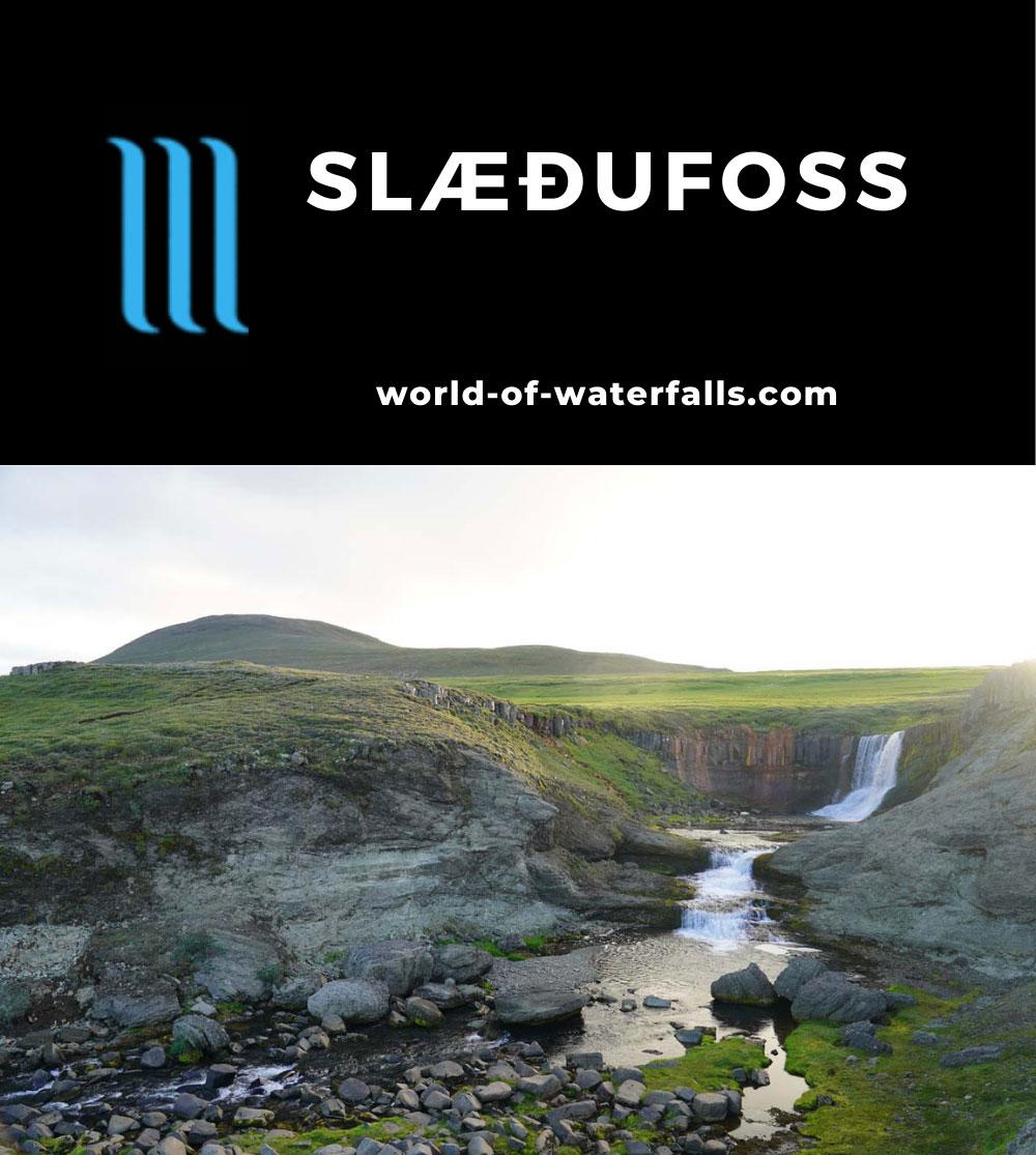 Laugarfell_282_08112021 - Slaedufoss (Slæðufoss)