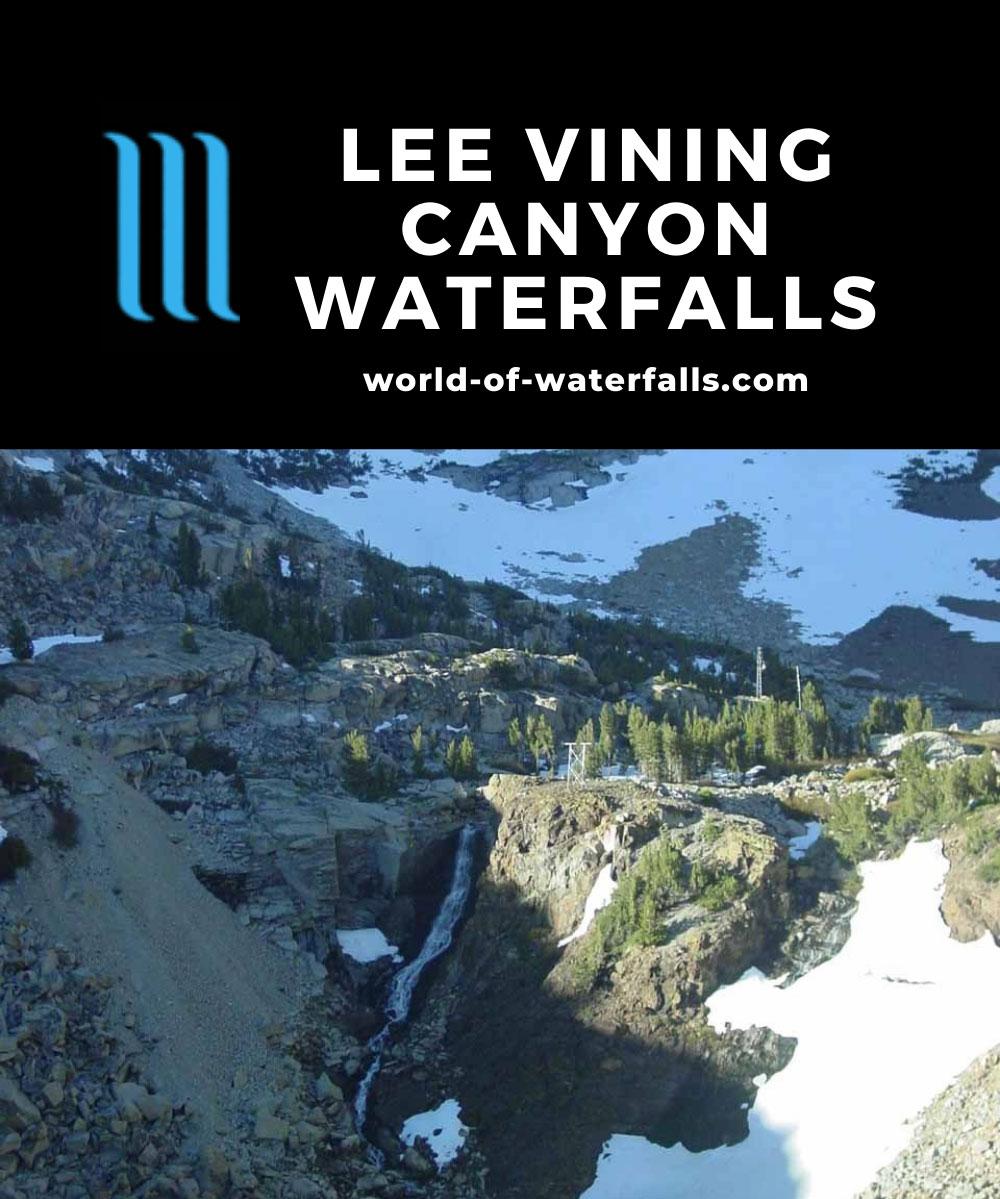 Lee_Vining_007_06042004 - The Ellery Lake Waterfall, one of the handful of waterfalls in Lee Vining Canyon
