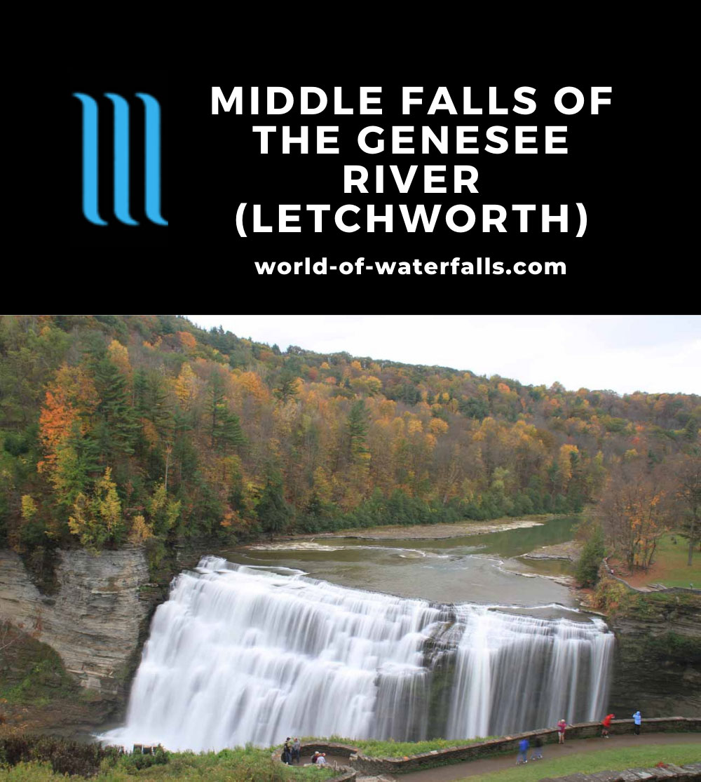 Letchworth_SP_13_144_10152013 - Middle Falls of the Genesee River in Letchworth State Park