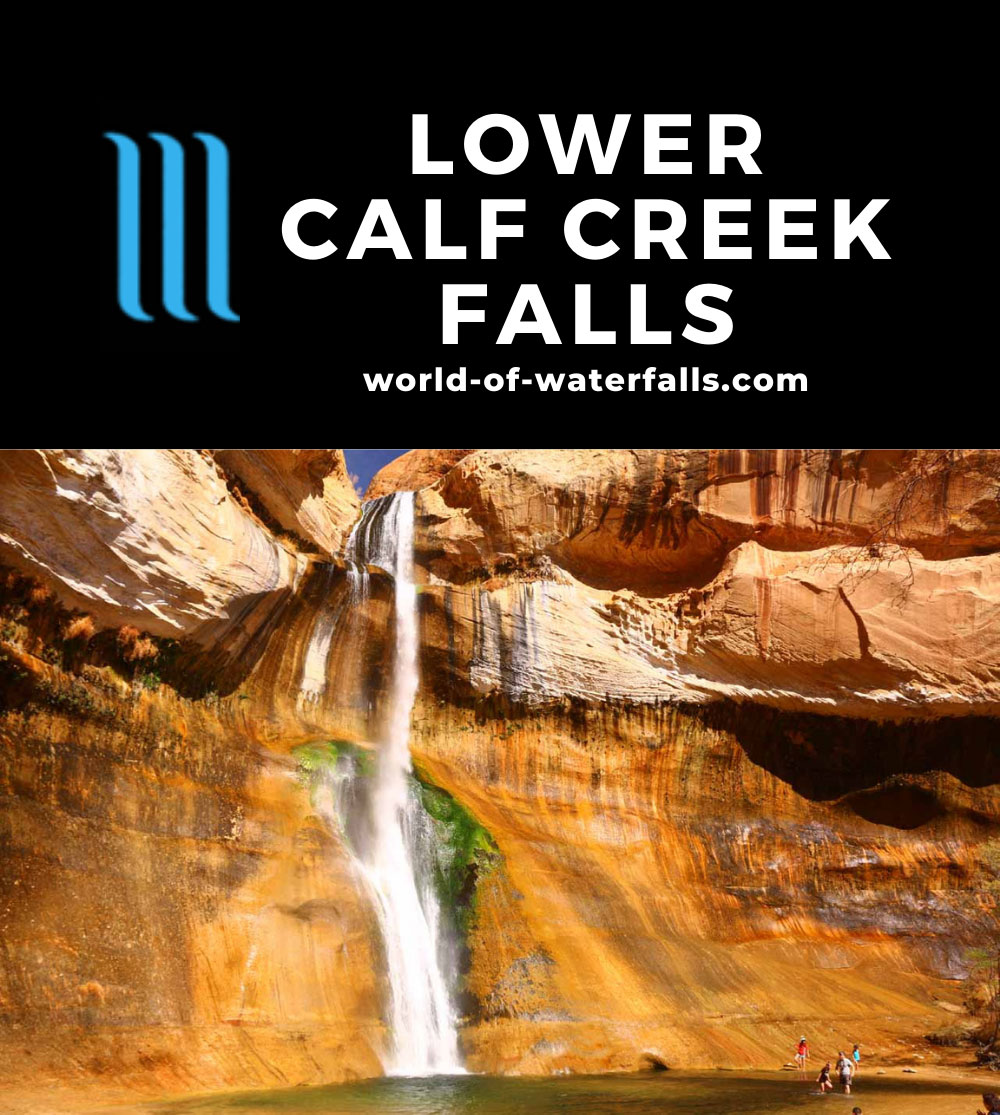 Lower_Calf_Creek_Falls_18_165_04022018 - People enjoying the cold plunge pool at Lower Calf Creek Falls