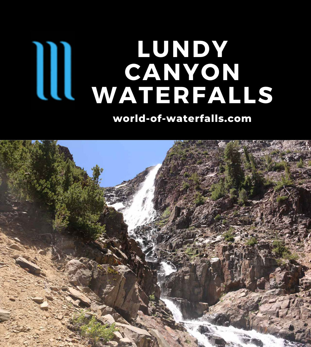 Lundy_Canyon_367_07112016 - The last and most impressive of the waterfalls we encountered in Lundy Canyon