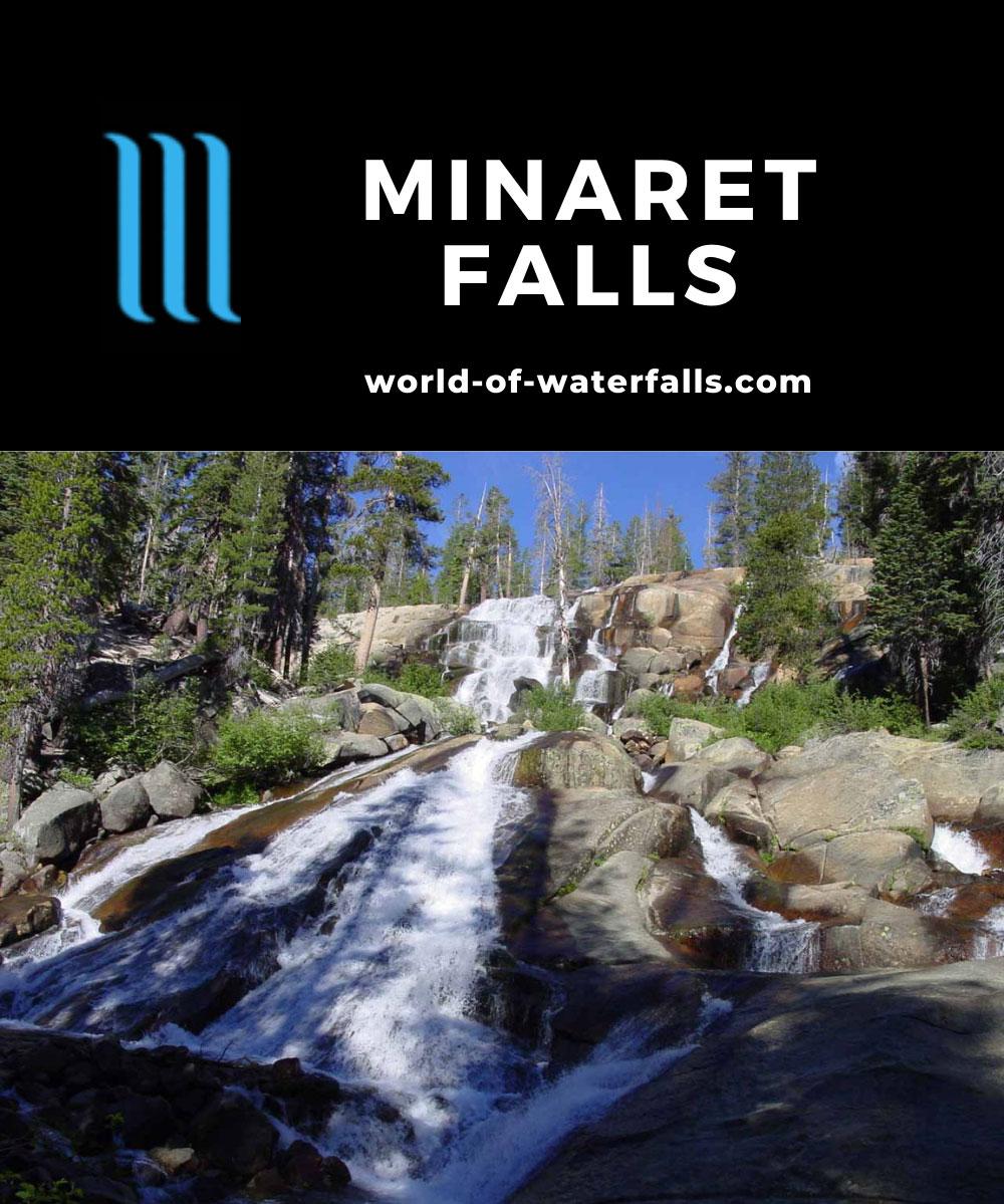 Minaret_Falls_001_07052002 - Looking up from the base of Minaret Falls