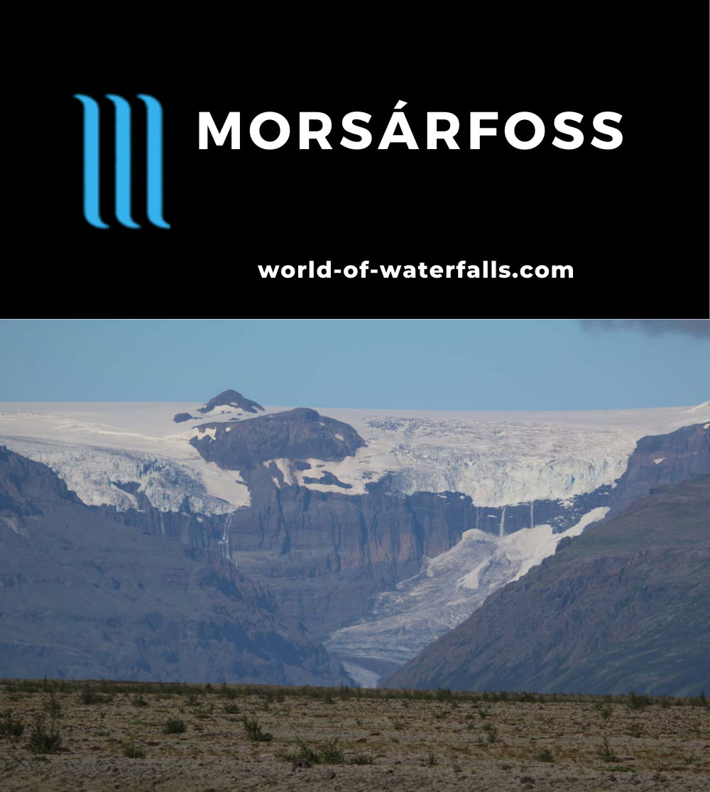 Morsarfoss_013_08082021 - Morsarfoss (Morsárfoss) or perhaps should be called Morsárfossar