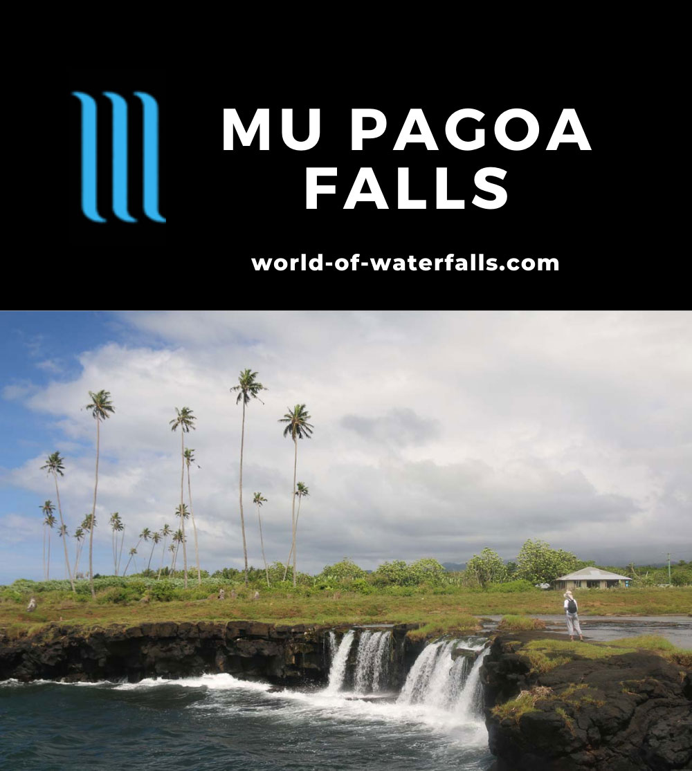 Mu_Pagoa_Falls_040_11142019 - The Mu Pagoa Waterfall spilling right into the South Pacific Ocean
