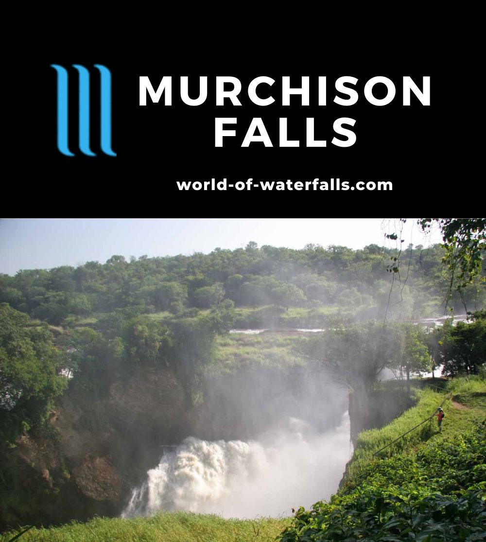 Murchison_Falls_348_06142008 - Murchison Falls and its turbulent churn into the Devil's Cauldron
