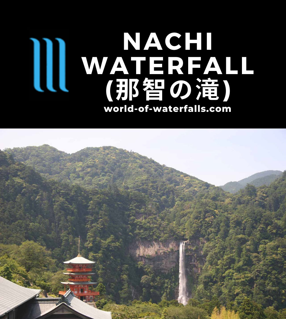 Nachi_039_06012009 - The Nachi Waterfall and a pagoda
