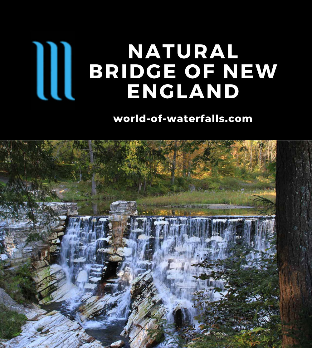 Natural_Bridge_NA_081_09292013 - Waterfall in the state park dedicated to the Natural Bridge of New England