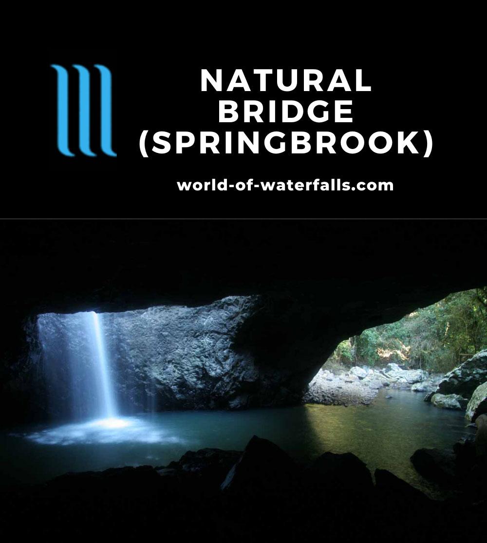 Natural_Bridge_Springbrook_081_05092008 - The Natural Bridge Waterfall in Springbrook National Park