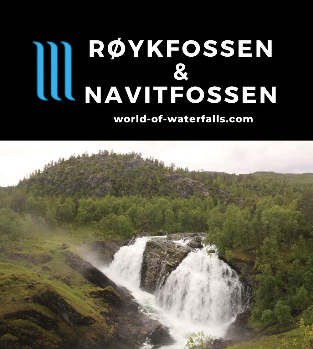 Navitfossen_092_07052019 - Røykfossen dropping some 30m on the Navitelva