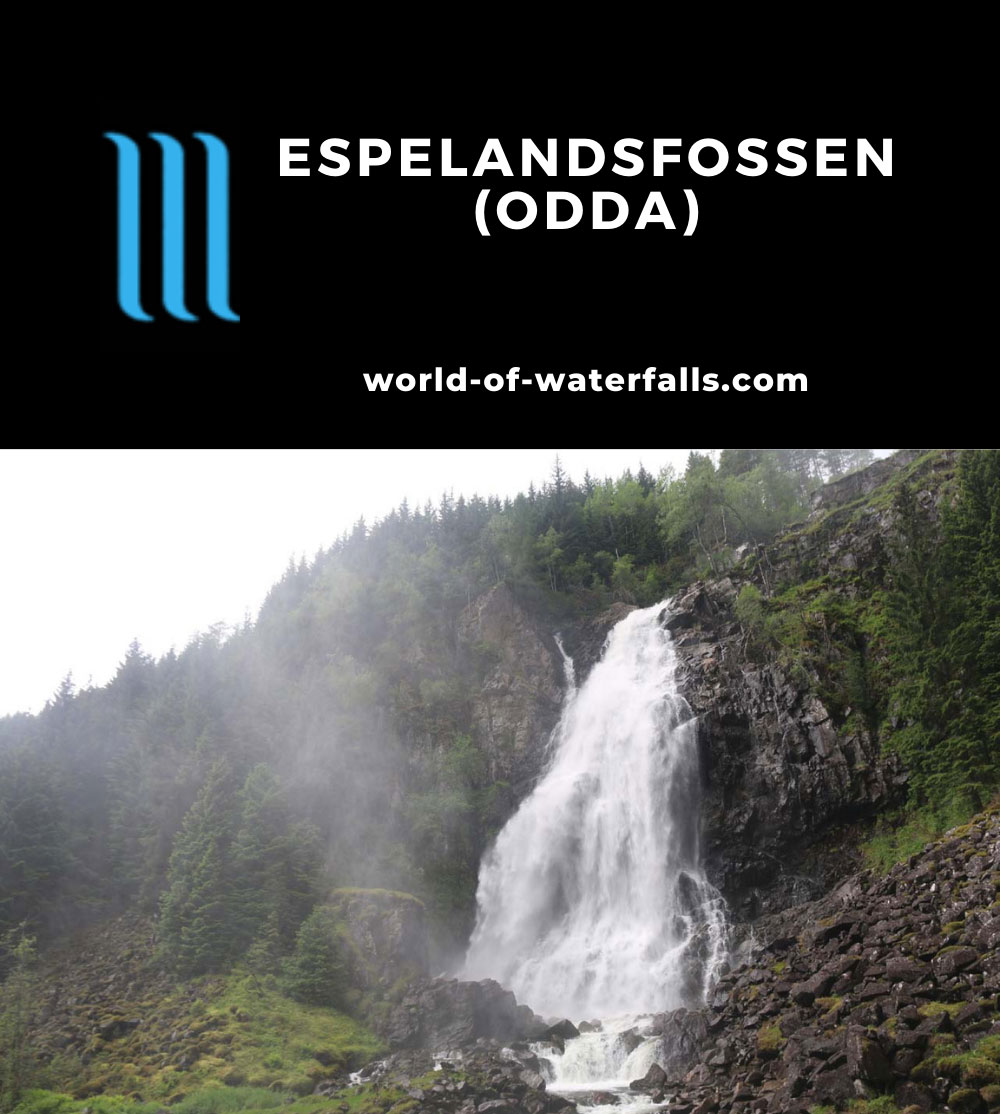 Oddadalen_003_06232019 - Espelandsfossen as seen on our most recent visit in June 2019