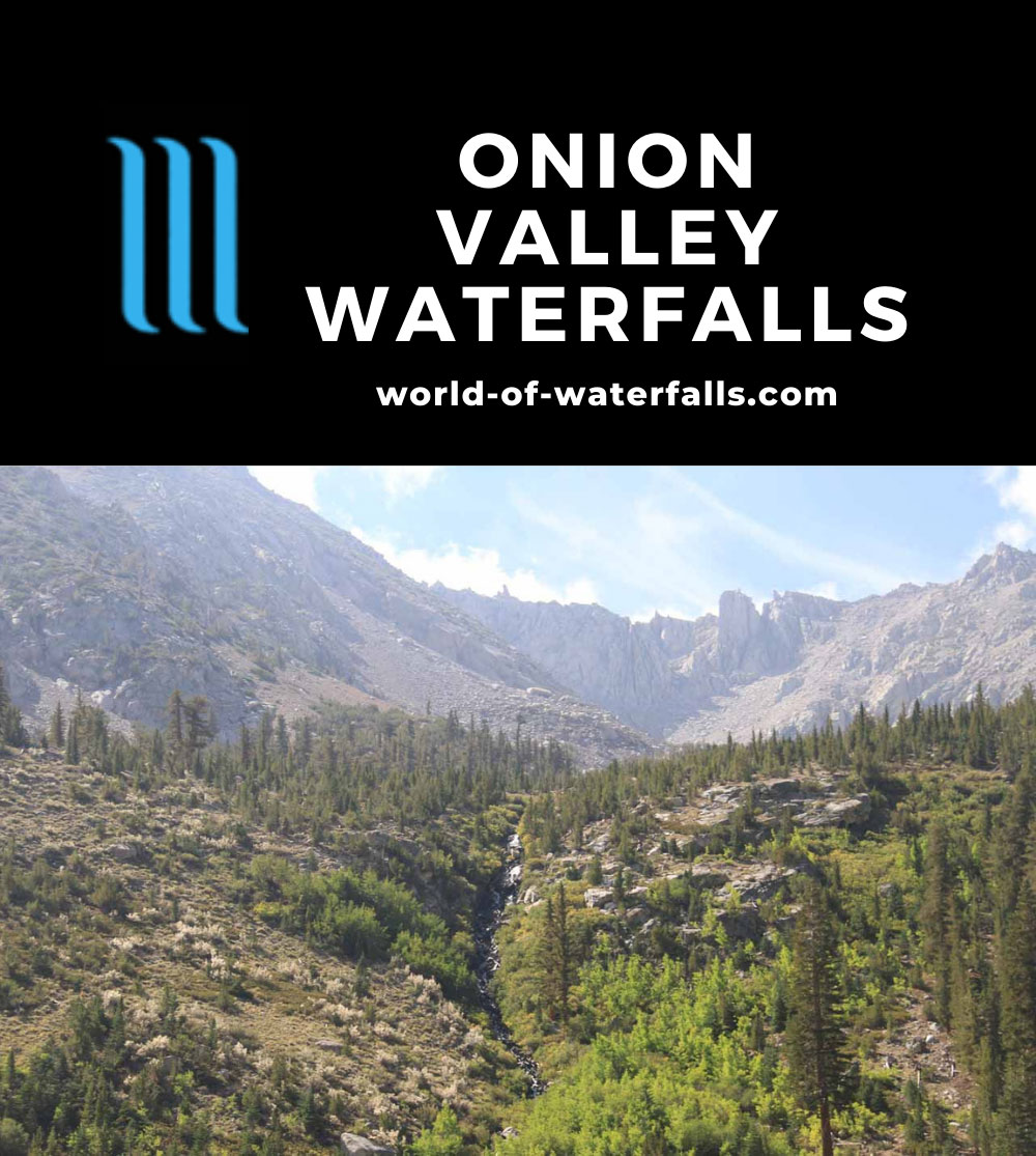 Onion_Valley_700_09012013 - One of the Onion Valley Waterfalls