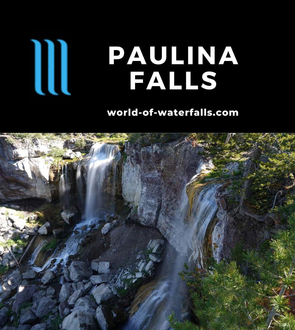 Paulina_Falls_100_06272021 - Paulina Falls or Paulina Creek Falls