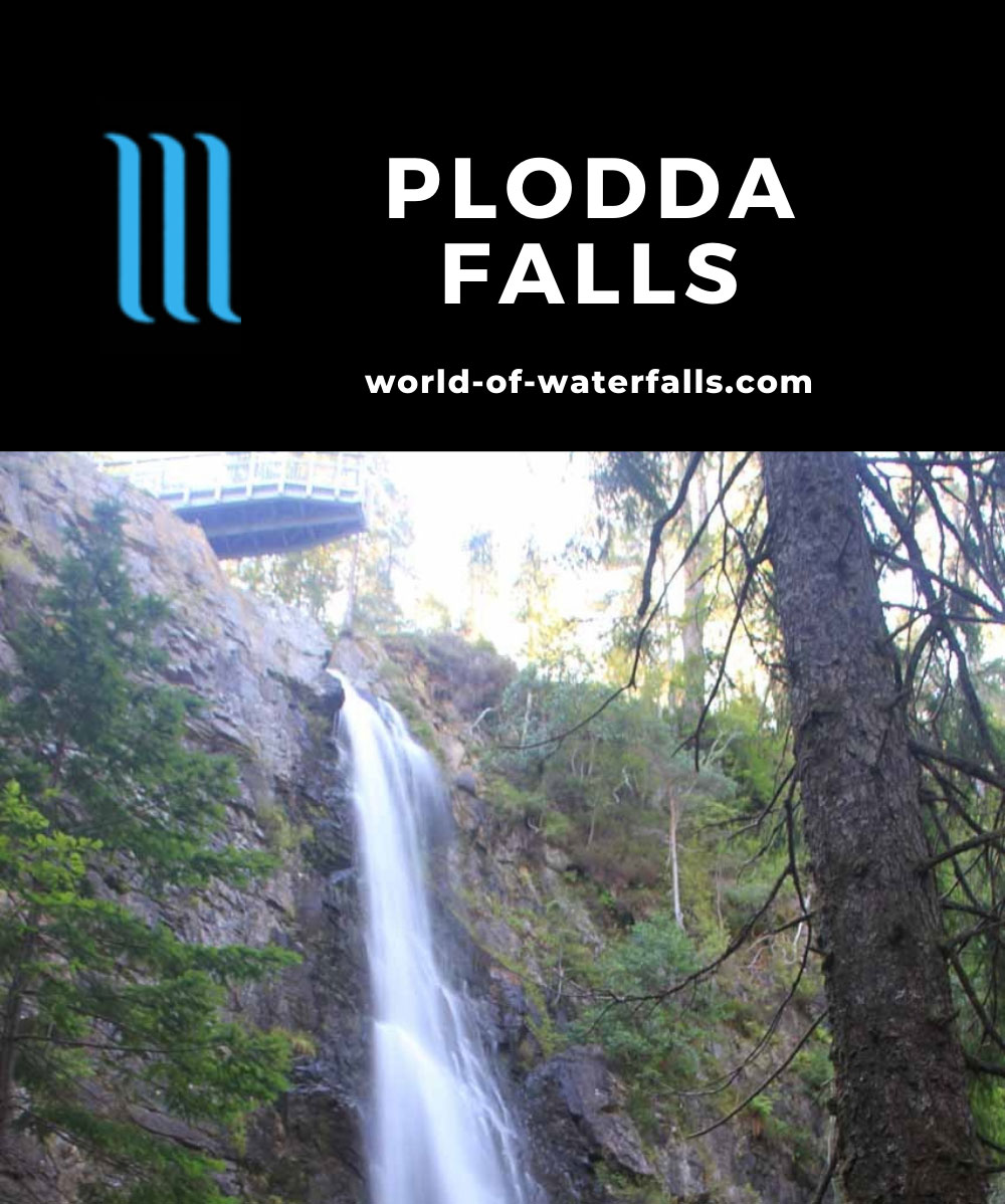Plodda_Falls_045_08272014 - Plodda Falls and the upper lookout platform