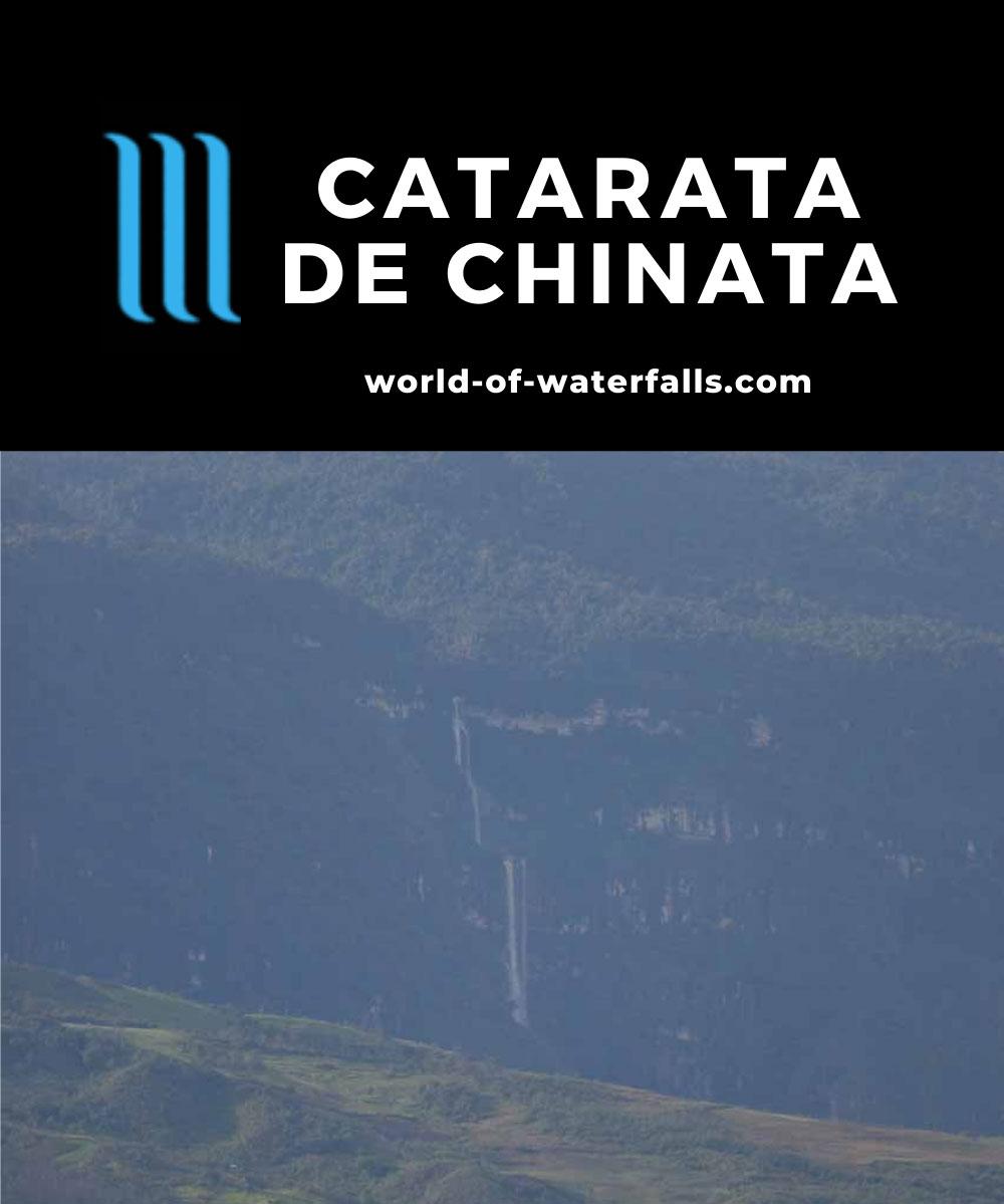 Pomacochas_055_04242008 - Distant but full view of Catarata de Chinata from the road near Pedro Ruiz