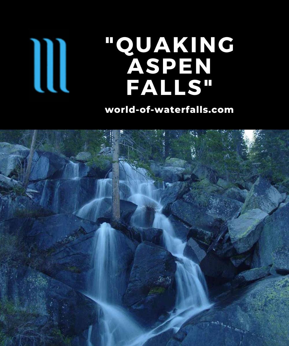 Quaking_Aspen_002_06042004 - The so-called 'Quaking Aspen Falls'