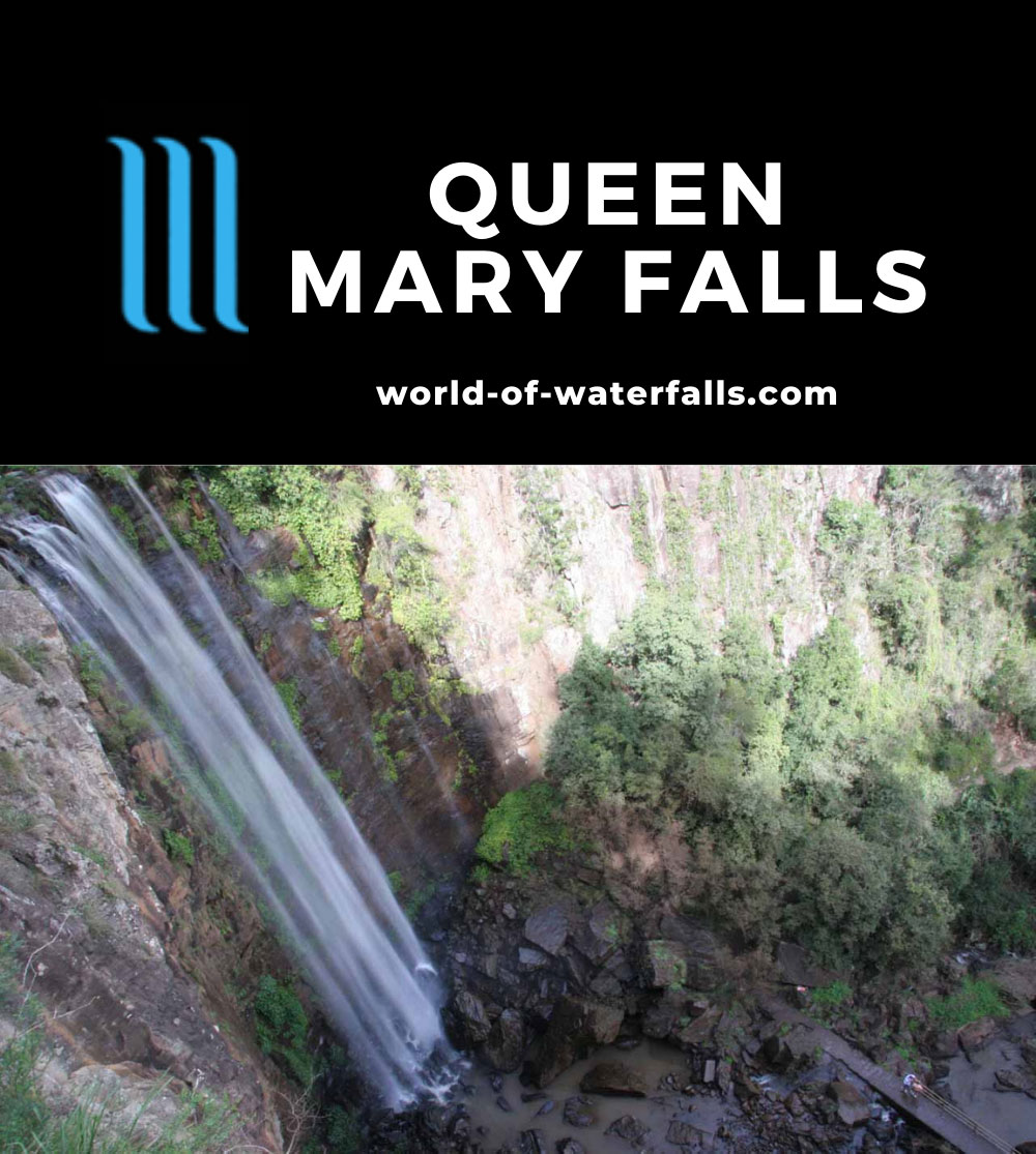 Queen_Mary_Falls_023_05082008 - Looking down at the full extent of the Queen Mary Falls