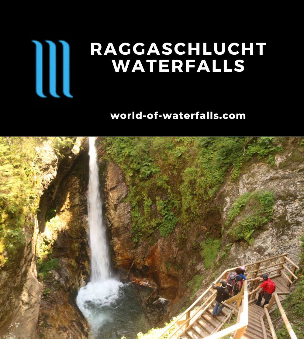Raggaschlucht_192_07132018 - The main waterfall in the Ragaschlucht Gorge