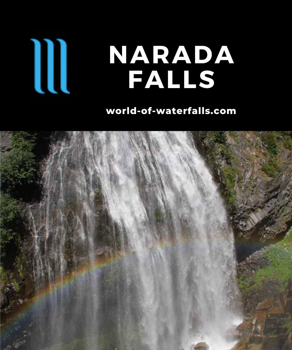 Rainier_385_08252011 - Narada Falls fronted by a rainbow