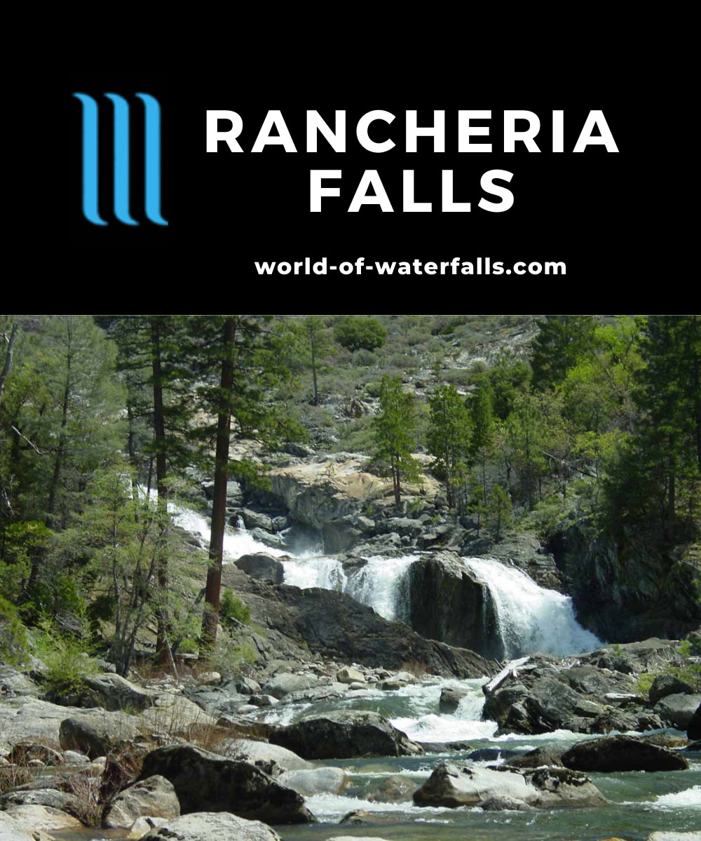 Rancheria_Falls_Hetch_Hetchy_013_04242004 - One of the Rancheria Falls