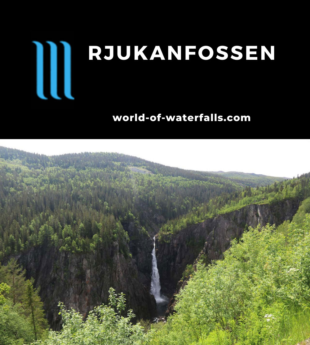 Rjukan_054_06192019 - Rjukanfossen putting on an impressive show in the early Summer of 2019