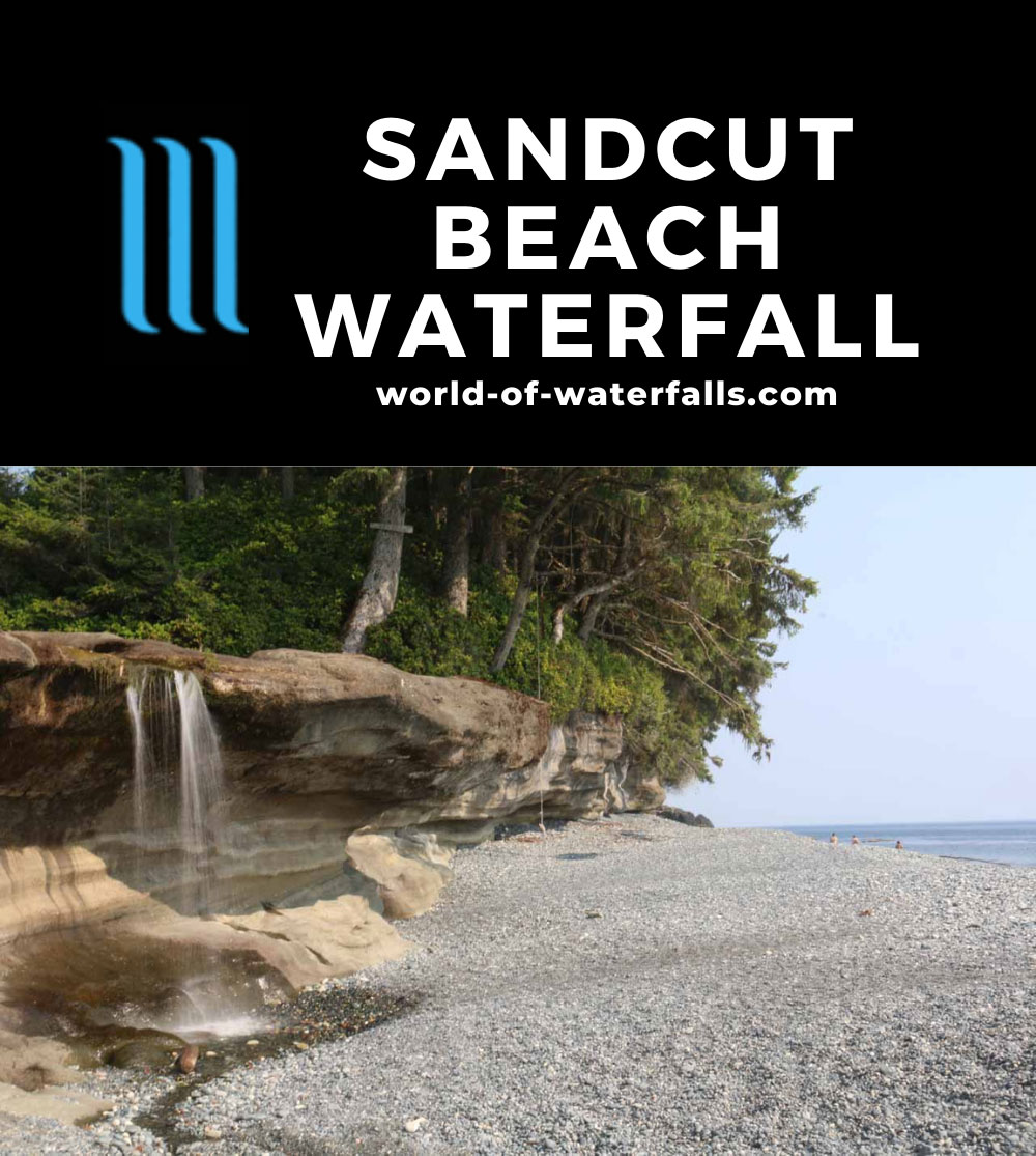 Sandcut_Beach_050_08032017 - Sandcut Beach Waterfall