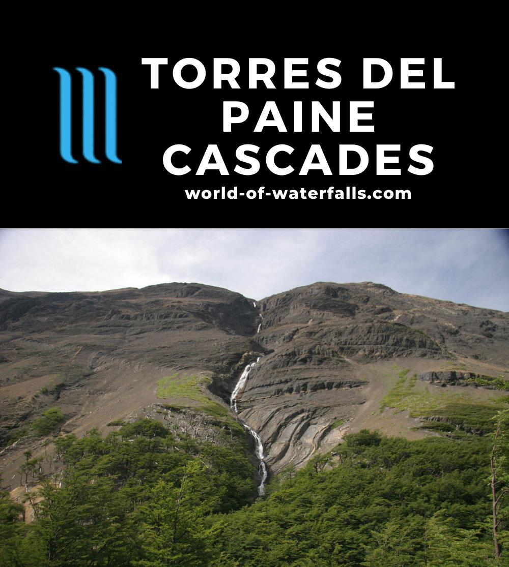 Sendero_Torres_del_Paine_210_12252007 - One of the impressive cascades seen along the Sendero Torres del Paine