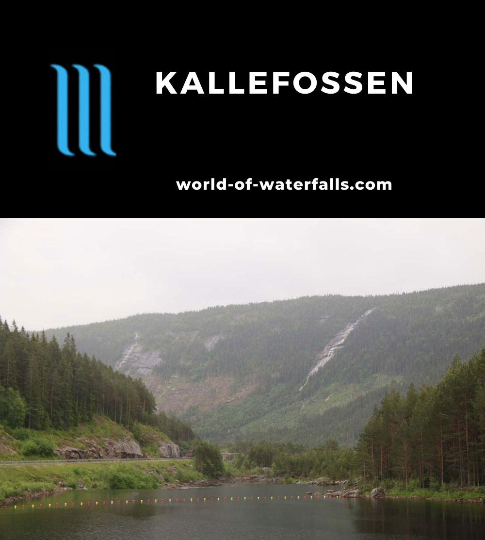 Setesdal_009_06192019 - Kallefossen seen from the Rv9 in Setesdalen on a rainy day in late June 2019