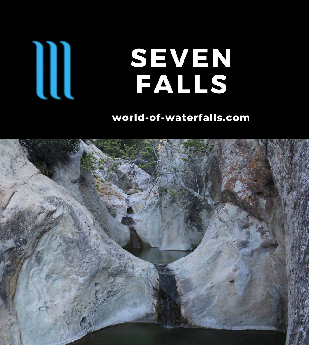 Seven_Falls_SB_17_074_04012017 - Seven Falls - the part of Mission Creek that made me understand how this waterfall got its name