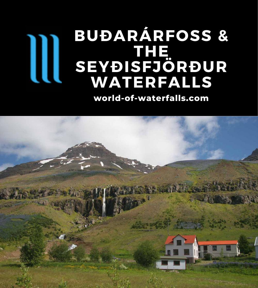 Seydisfjordur_030_07012007 - One of the waterfalls backing the town of Seyðisfjörður