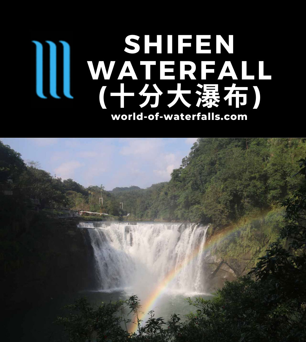 Shifen_Waterfall_111_11042016 - Shifen Waterfall and morning rainbow