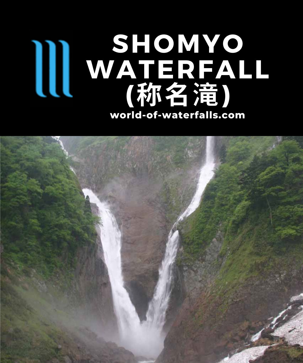 Shomyo_015_05292009 - The tandem of the Shomyo Waterfall (left) and the Hannoki Waterfall (right)