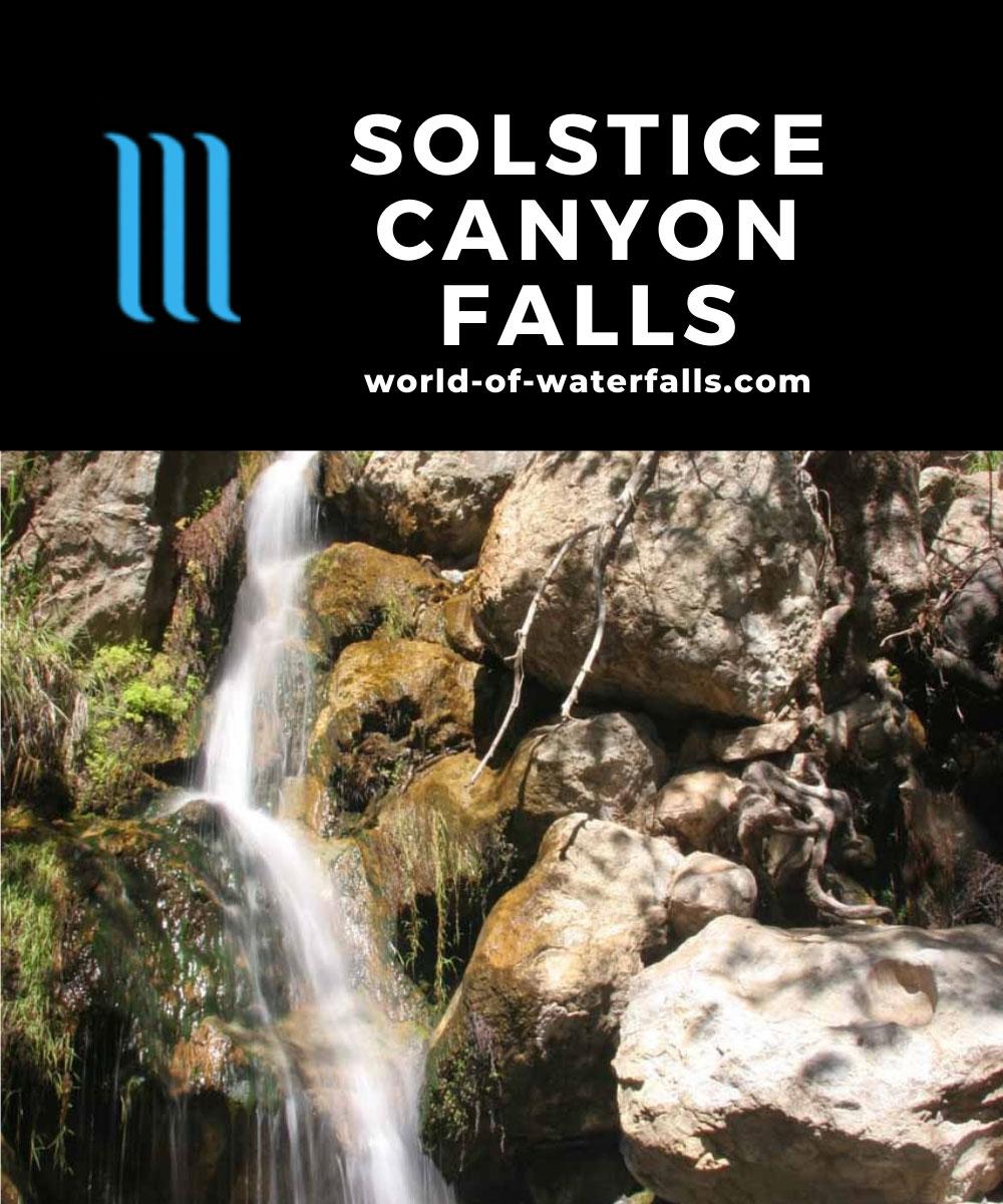 Solstice_Canyon_Falls_030_03142010 - Solstice Canyon Falls in early Spring flow