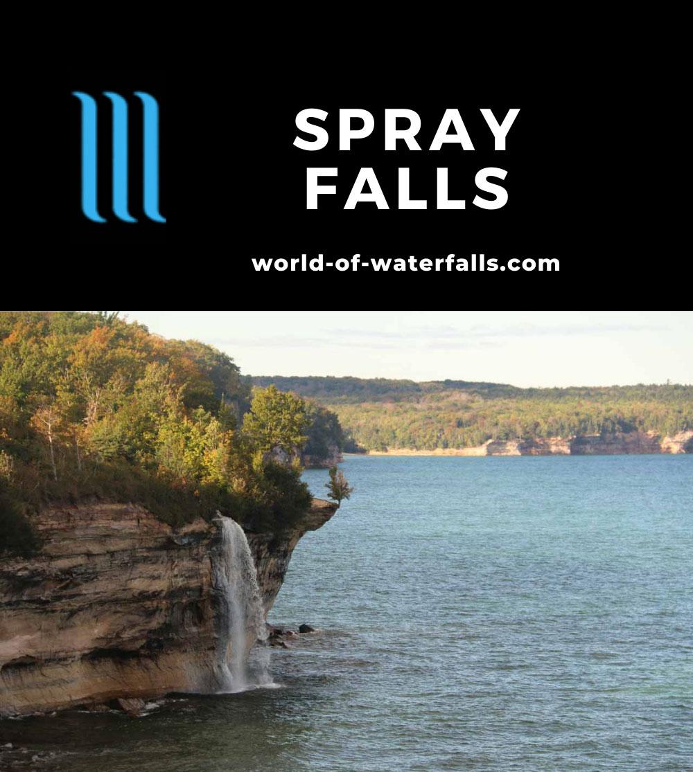 Spray_Falls_hike_188_09302015 - Spray Falls diving right into Lake Superior