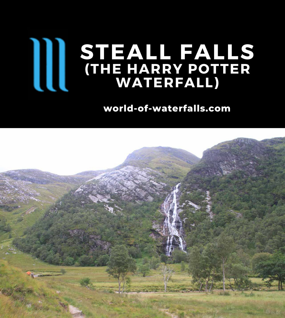 Steall_Falls_109_08282014 - Steall Falls - the 'Harry Potter Waterfall'