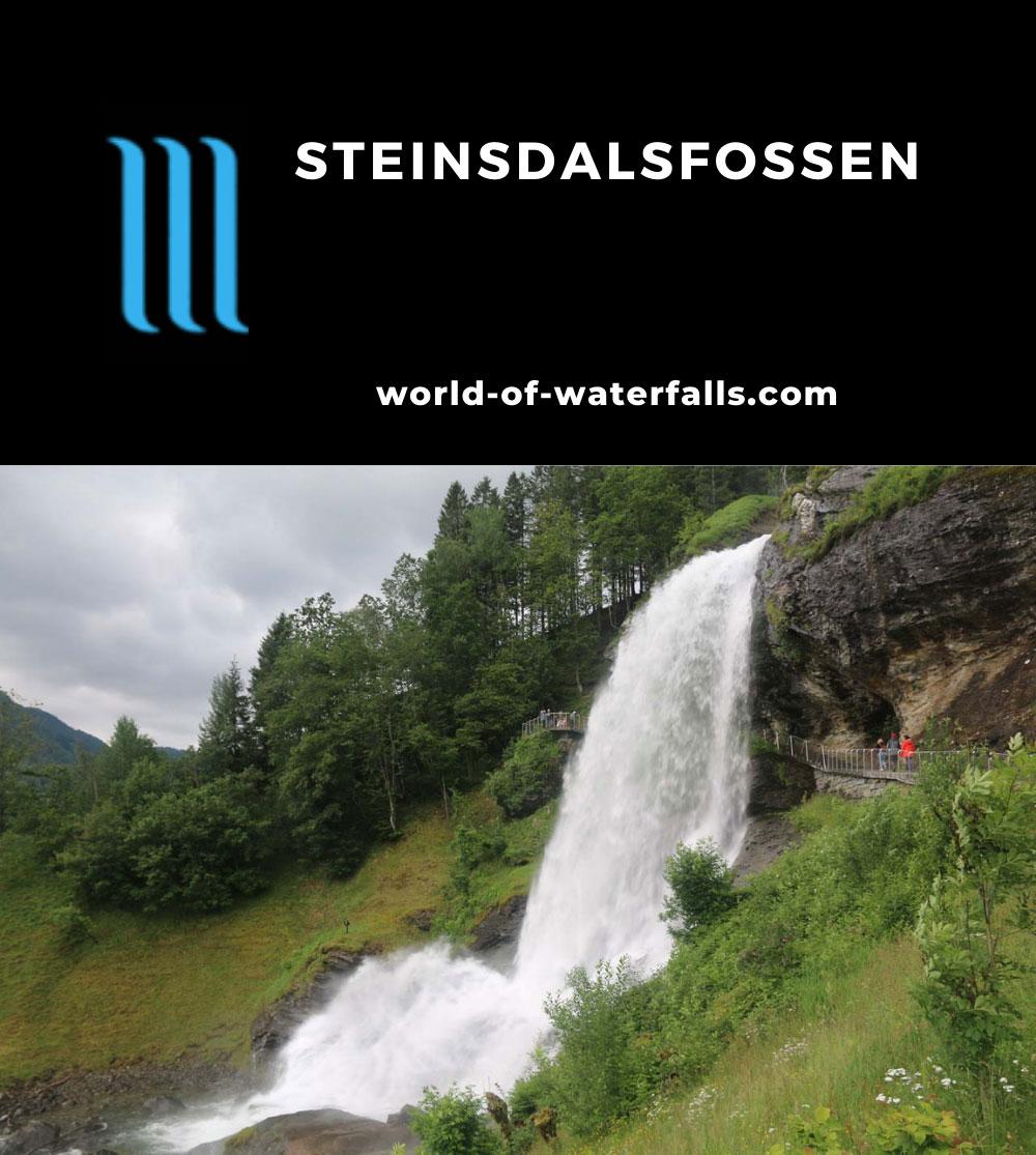 Steindalsfossen_062_06262019 - Profile view of Steinsdalsfossen as seen in late June 2019