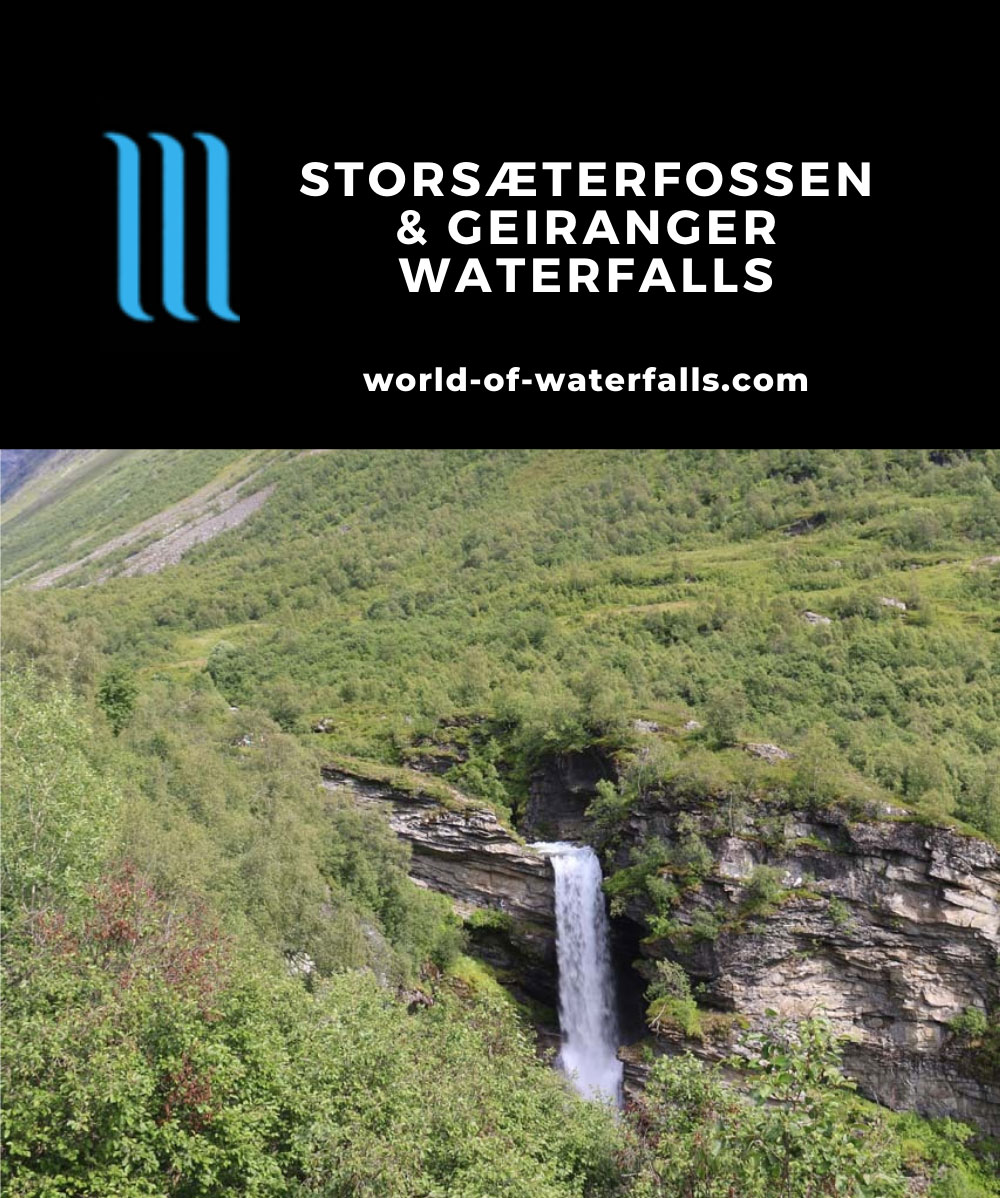 Storseterfossen_113_07182019 - Storsæterfossen backed by the Grinddalsnibba