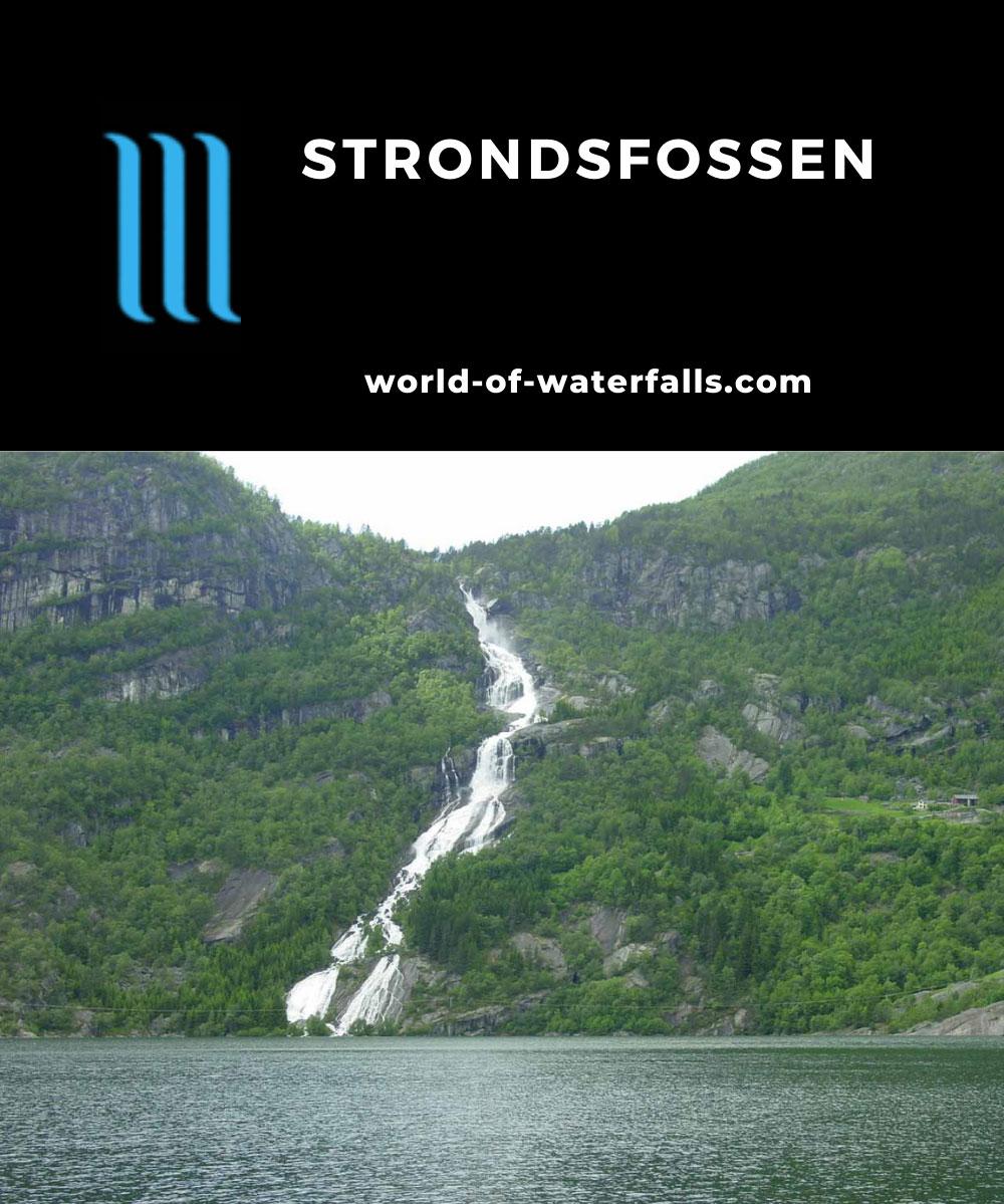 Strondsfossen_005_06242005 - Strondsfossen seen directly during our first visit in June 2005