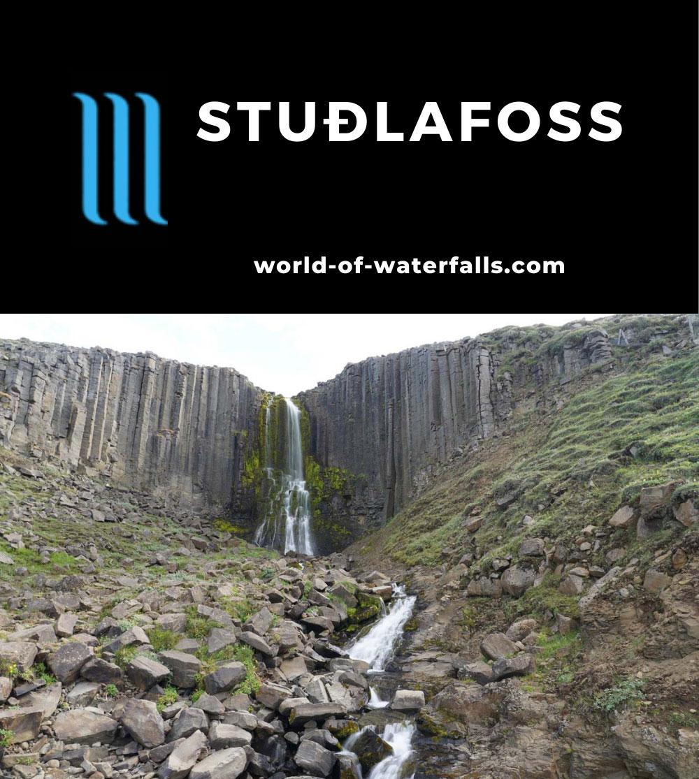 Studlagil_Canyon_278_08102021 - Studlafoss (Stuðlafoss)