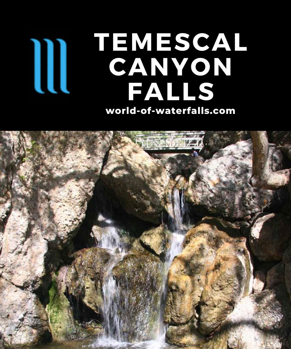 Temescal_Canyon_Falls_012_03142010 - One of the drops of Temescal Canyon Falls